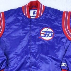 STARTER Jackets   Coats - Winnipeg Jets STARTER JACKET NHL Throwback Men cd1f45ee3